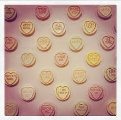valentine hearts simpsons