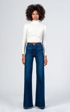 Claudia Wide Leg Jeans – The Lotus Boutique
