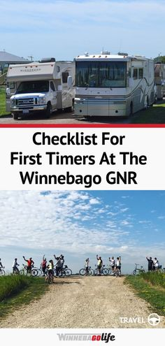 Are you planning on attending a Winnebago Grand National Rally soon? If so, this is a must-read for first timers going to the GNR! Whether you are full-time rving, a weekend warrior, or summer family vacationers you will find events that you won't want to miss. From social activities, seminars, factory tours, and so much more. The GNR is a great place to connect with fellow rv'ers, make new friends, and learn more about the rv life! #WinnebagoLife #RVLife #GrandNationalRally #WinnebagoRally Social Activities, Grand National, Rv Travel, Make New Friends, Rv Life, Great Places, Rally, Road Trip, United States
