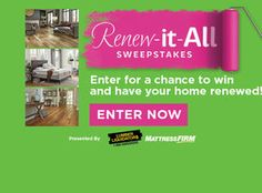 Renew-it-All Sweepstakes