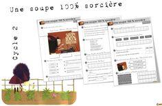 Lecture CE1: Une soupe 100 % sorcière - Bout de gomme