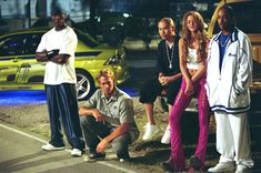 Still of Ludacris, Tyrese Gibson, Paul Walker, Devon Aoki and Jin Auyeung in 2 Fast 2 Furious Ready to get in a new or used car? and fill out our secure online auto loan application! Fast And Furious Cast, The Furious, Paul Walker Movies, Rip Paul Walker, Cody Walker, Jin, Paul Walker Photos, Fast Five, 2fast And 2furious