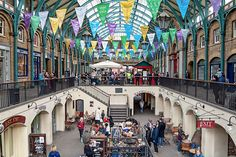 Yes!  would love to go shopping in the popular Convent Garden Market in London's West End