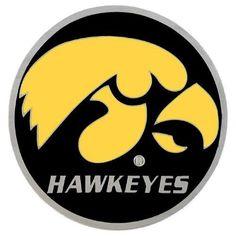Iowa Hawkeyes Ncaa Logo Hitch Cover