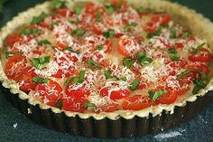 Tomato Mozzarella Basil Tart–Annie's Eats