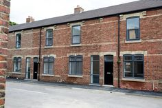 The cleaned and refurbished facades at Carr Street have proved extremely successful with local residents delighted with the results.  The old brick detailing has been re-established and new windows within the original openings have awoken these properties to natural daylight.