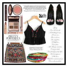 """Pretty Powerful"" by fashion-rebel-chic ❤ liked on Polyvore featuring WithChic and Charlotte Tilbury"