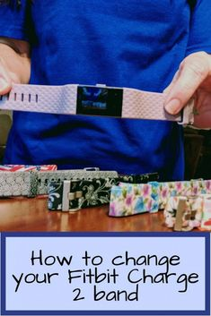 How to change your Fitbit Charge 2 band with a fun, patterned band, leather Fitbit accessory band, or even a dressy gold fitbit band. Changing your fitbit Charge HR band is so easy, you'll be wondering why you didn't do it sooner! #FitBit #Fitness #FitFashion