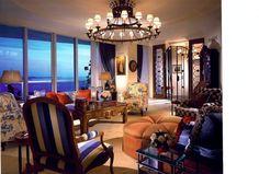 Miami Client's Living Room. Designed by Susan Gale & Associates, Inc.