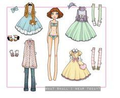DeviantArt: More Like Aurelia the Automaton paper doll by Mezzochan
