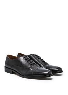 Chaussures Oxford cuir