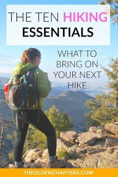 The ten hiking essentials are ten items that every hiker should carry in their day pack. They keep you safe, comfortable, and prepared for a full day of hiking. This is the ultimate hike packing list Hiking Tips, Camping And Hiking, Camping With Kids, Hiking Gear, Hiking Backpack, Family Camping, Tent Camping, Trekking Gear, Backpacking Tips