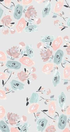 cute, iphone, floral, wallpapers, backgrounds