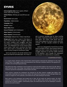 Planets, planets, and more planets - Page 8 - Star Wars: Edge of the Empire RPG - FFG Community Star Wars Characters Pictures, Star Wars Images, Star Wars Rpg, Star Wars Clone Wars, Star Wars History, Space Solar System, Edge Of The Empire, Starwars, Star Wars Poster
