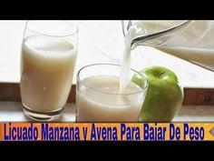 Licuado a base de avena, manzana y limón para bajar de peso y reducir el colesterol | Salud