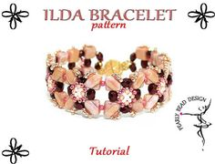 This beading tutorial contains very detailed, step-by-step photographic instructions.  After notofication of sale and payment the link to download the PDF will be e-mailed to you within 24 hours . Attention! The attached tutorial file is big size, about 5 MB. Skill Level: Beginners (easy)  Languange: English  Material list:  - Japenese Seed beads - Czech Faceted beads - Silky beads - Magnetic clasp/Toggle clasp - Fireline/ line - Size 10 beading needle  If you any other questions about this…