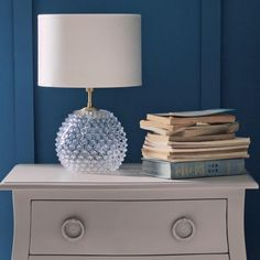 Clear Diamond Tip Table Lamp | Lighting | Graham and Green