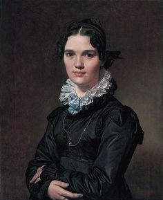 1821 Mademoiselle Jeanne Gonin, by Jean-Auguste-Dominique Ingres