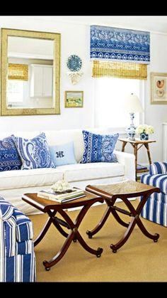 Blue & White ♥