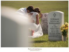 Nina Campbell Photography Veteren's Cemetery Wedding