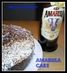 Amarula Cake - South-African {option for different liqueur, if Amarula is unavailable}