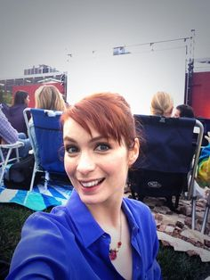 Twitter / feliciaday: At the @Joss Henry Henry Henry Henry Whedon's Much Ado About Nothing screening, ...