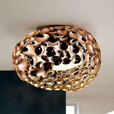 Ceiling, Bowl, Metal, Led Ceiling Lights, Led, Decorative Bowls, Ceiling Lights, Lights