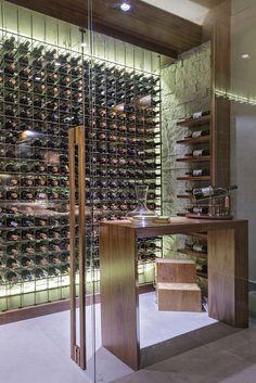 Sala de Vinhos | Adega Casa Cor 2016 | Silvia Carvalho Arquitetura