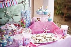 mermaid birthday party - - Yahoo Image Search Results