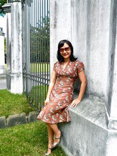 Eva Dress 1939 dress pattern