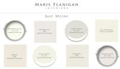 Keep It Light and Bright with White: MFI's Favorite White Paints (Marie Flanigan Interiors) Light Gray Paint, Grey Paint, Kitchen Paint Colors, Paint Colors For Home, Paint Colours, Best White Paint, White Paints, Wimborne White, Favorite Paint Colors