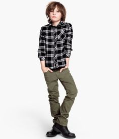 Just the right amount of attitude & easy fashion for your tween/teen boy. And check out the price on those boots! #RetroKids #BargainKidsFashion from #H&M