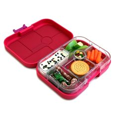 Amazon.com: Yumbox Leakproof Bento Lunch Box Container (Framboise Pink) for Kids: Kitchen & Dining $29.99
