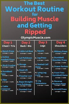 Gym Workout Plan for Weight Loss (Beginners) – … – fitness training 4 Day Workout, Workout Splits, Full Body Workout Routine, Workout Plan For Men, Weekly Workout Plans, Gym Workout Tips, Weight Training Workouts, Fun Workouts, Gym Workouts For Men