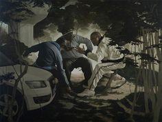 Guillaume Bresson, peintures en chantier   Mediapart
