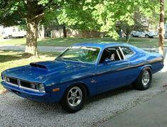 71 Dodge Demon Pro Street. #cleckleymotorworks