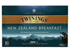 Twinings New Zealand Breakfast tea was created to get New Zealanders off to a great start in the morning. Inspired by the magic of birdsong in the bush as day breaks, this blend is a full bodied black tea with generous malty flavours.