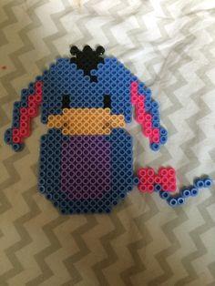 Eeyore from Winnie the Pooh perler bead