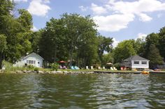 Pet Friendly, Family Cottage Resort on Upper Chemong Lake, Lakefield Ontario. Easy to get to.yet difficult to leave! Ontario, Cottage, Leaves, Pets, Animals And Pets, Casa De Campo, Cabin, Cottages
