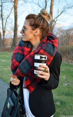 Zara scarf for the winter!
