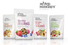 Seven Sundays Muesli branding by The Spice Agency branding branding