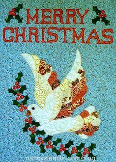 Devote quilter/Free quilt pattern/Love the Dove Quilt pattern | Nancy Zieman Blog