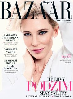 Cate Blanchett for Harper's Bazaar Czech Republic - October 2015 #cateblanchett #harpersbazaar