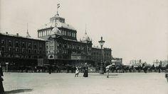 1899 Gevers Deynootplein, Kurhaus met op de achtergrond de Kurhausbar op de oude plaats