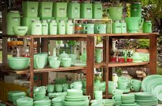 Jadeite. Just lovely