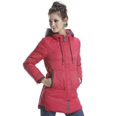 Convertible hooded collar Down Jacket