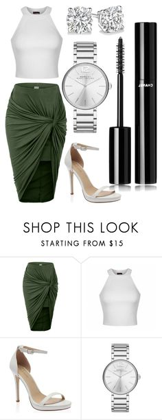 """Untitled #69"" by rodoulla97 on Polyvore featuring LE3NO, Ally Fashion, Marc by Marc Jacobs and Chanel"