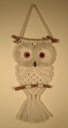 It's My ... Macramé Owl | It's my cake