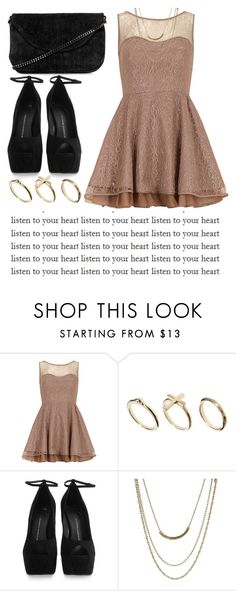 """listen to your heart♥"" by rusher-decorazon on Polyvore featuring moda, Dorothy Perkins, DesignSix, Giuseppe Zanotti, ASOS y Topshop"