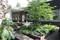 Strakke intieme tuin - Hooft Hoveniers